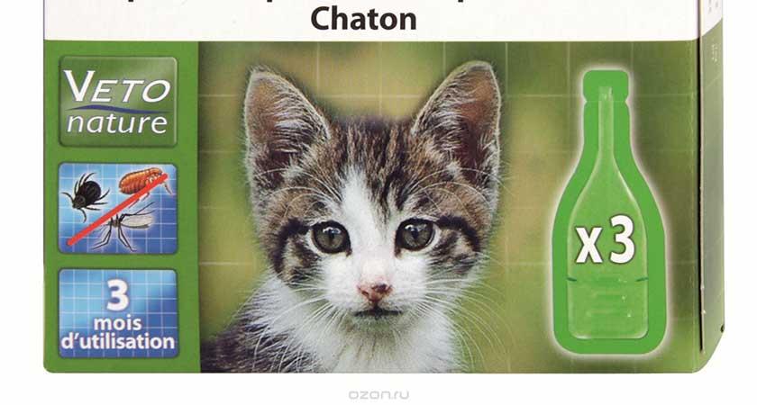 барс для кошек от блох инструкция