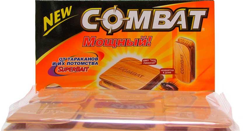 Комбат – линия продукции для борьбы с тараканами