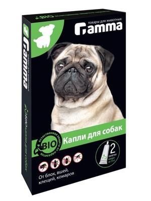 Капли Гамма для собак