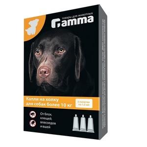 Капли гамма для больших собак
