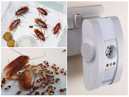 Обзор электрических отпугивателей от тараканов, которые работают от розетки